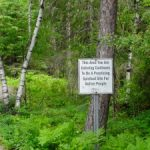 Seeing Without Sharing at Petroglyphs Provincial Park
