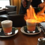 Thawing out with flaming gin